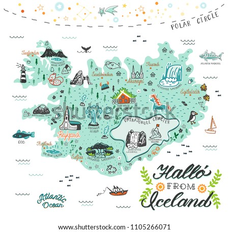 Iceland vector free free vector download (8 Free vector) for ...