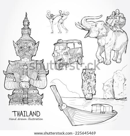 hand drawn illustration of
