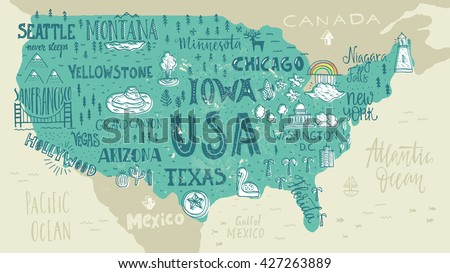 Grand Canyon Map Vector Download Free Vector Art Stock Graphics