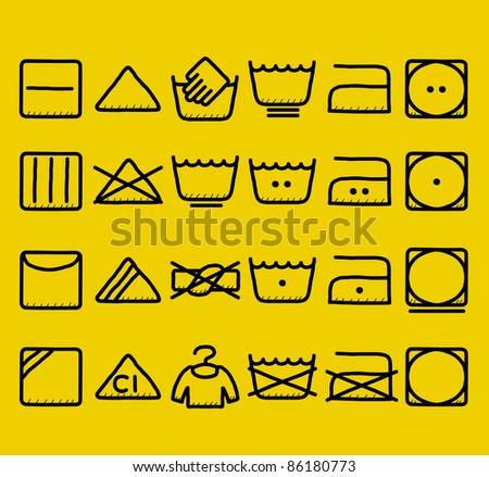 Japanese Laundry Symbols