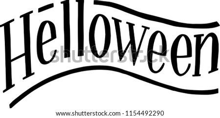 Hand drawn  lettering. Vector card or poster with