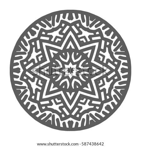 hand drawn mandalas decorative