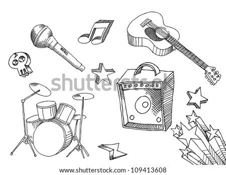 Hand Drawn Music