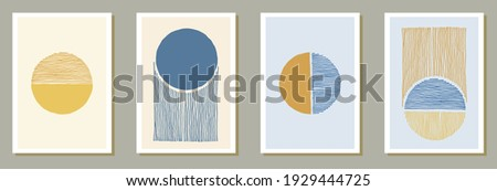 Hand drawn original banners vector collection. Watercolor splats texture. Chinese style design. Youth artistic cover templates. Brush stroke elements.