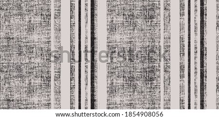 Hand drawn pastel striped pattern pastel brush strokes. vector grunge stripes vertical  seamless vector. Ink paint line with torn linen effection linen textured.