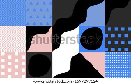 hand drawn pattern design
