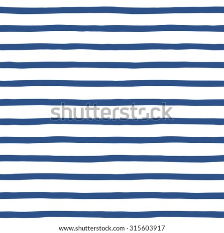 hand drawn sailor stripes