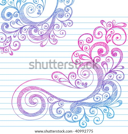 Cute Notebook Paper Notebook Paper
