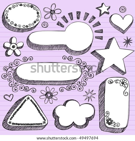 Purple Lined Paper Background-