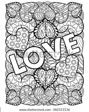 hand drawn st valentine's day
