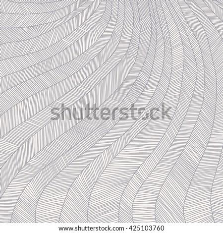 hand drawn striped monochrome