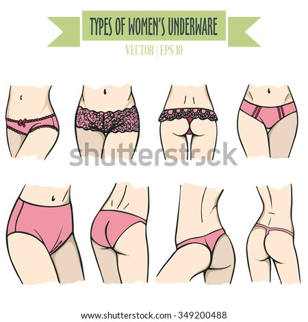 Types of Cuts of Women's Underwear