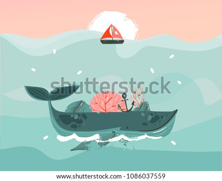 Seaweed Abstract Background - Download Free Vector Art, Stock ...