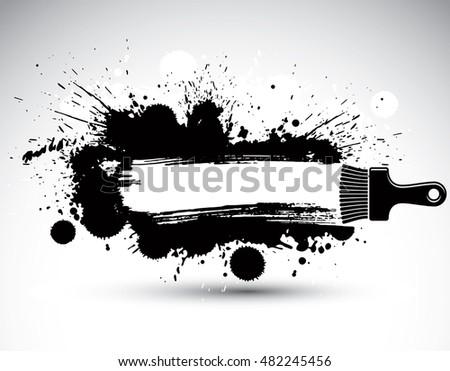 hand drawn vector backdrop