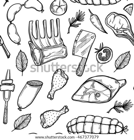 hand drawn vector background
