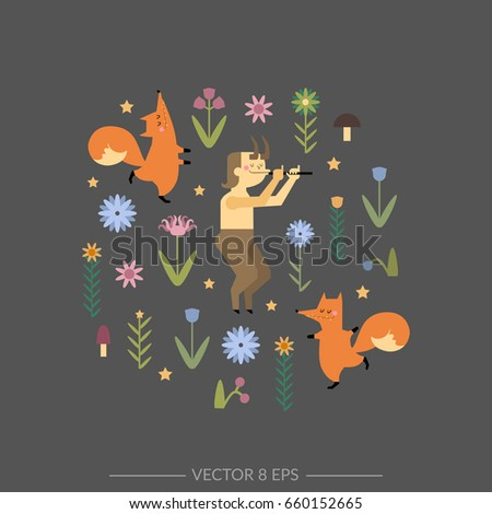 hand drawn vector banner with