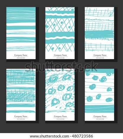 Hand drawn vector collection of artistic cards. Wedding, marriage, bridal, birthday, Valentine's day, Party invitation or smartphone background.  Poster. Poster. Poster. Poster. Poster Poster Poster