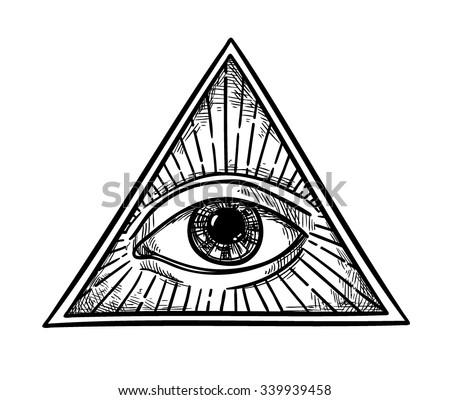 Illuminati Eye Pyramid Download Free Vector Art Stock Graphics