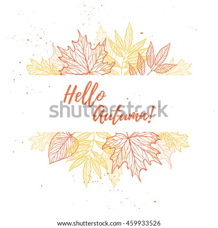 hand drawn vector illustration. ...