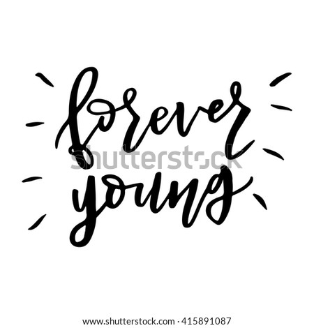hand drawn vector lettering