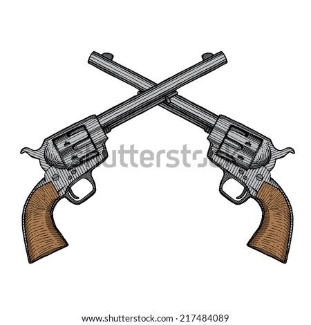 Vintage Hand Guns 95