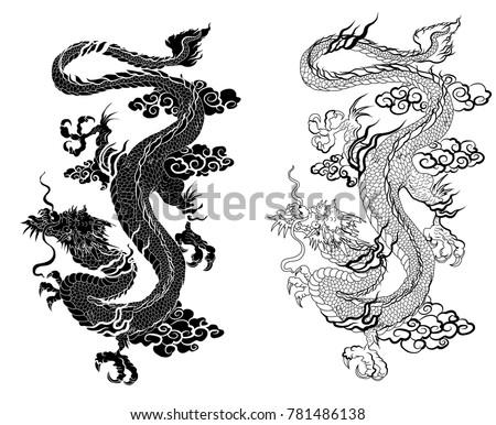 hand drawn zentangle style