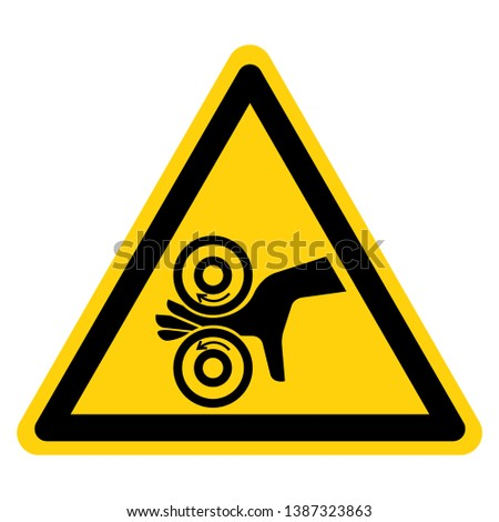 Hand Entangle Left Symbol Sign, Vector Illustration, Isolate On White Background Label .EPS10