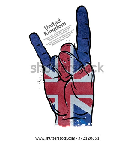 hand gesture cool  rock and