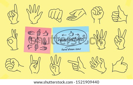 hand gestures and signs in