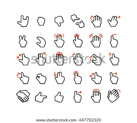 Hand Gestures Icon