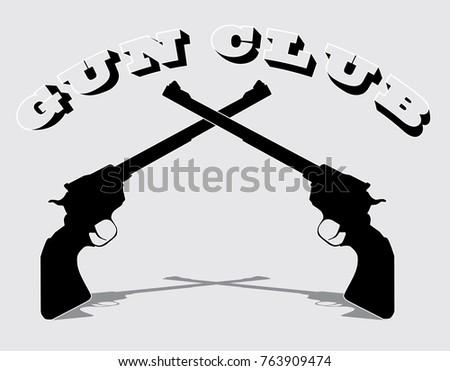 Gun Club Logos Download Free Vector Art Stock Graphics Images