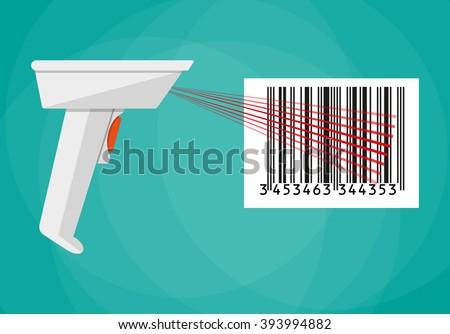 hand held barcode scanner