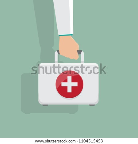 hand hold madicine kit box
