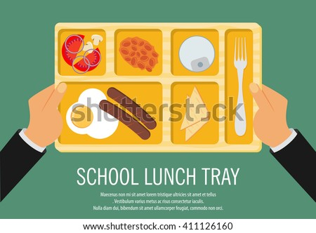 food trays for lunch download free vector art stock graphics images rh vecteezy com School Lunch Tray Art Lunch Tray