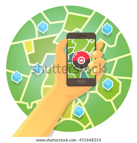 hand in phone game locations