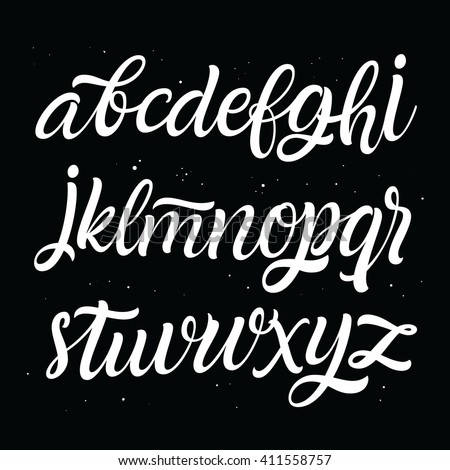 Hand lettering and custom typography typeface for your designs: logos, for posters, wedding invitations, greeting card, labels. Vector font.