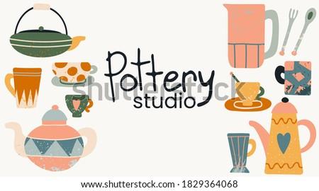 hand made pottery studio