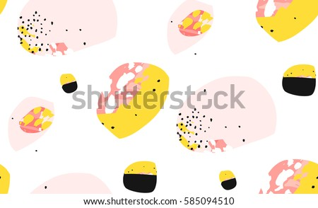 hand made vector abstract