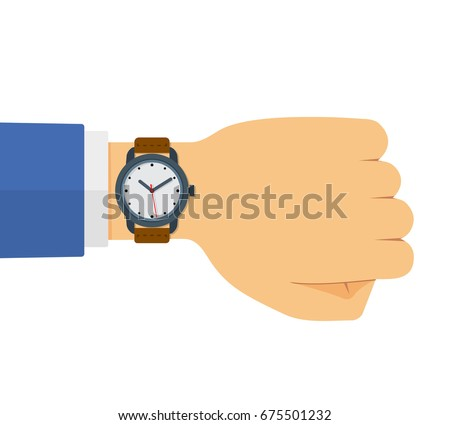 hand of male businessman in