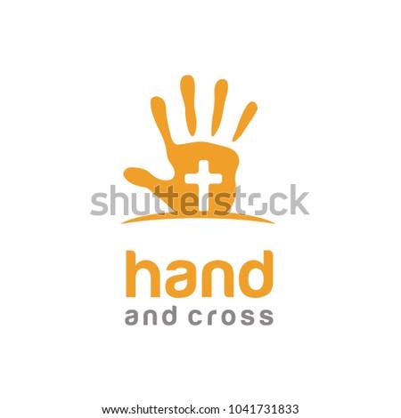 hand paint cross baptist kids