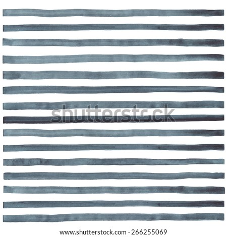 hand paint striped watercolor