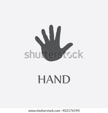 hand paw hand paw vector hand