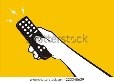 Hand remote control