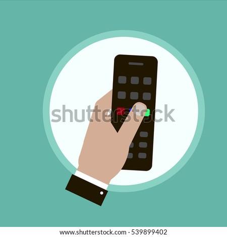 Hand remote vector