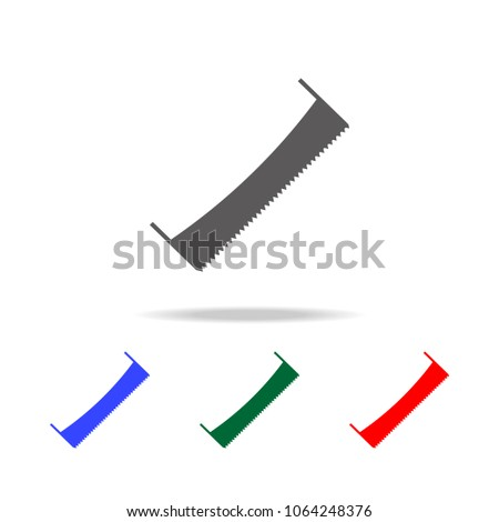 hand saw icon elements of