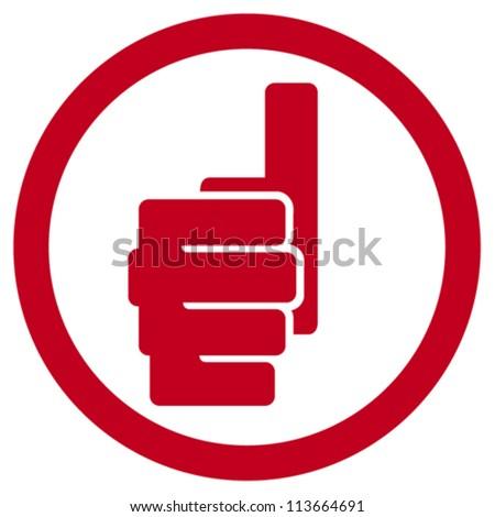 hand showing thumbs up symbol (human hand giving ok label, hand showing thumbs up sign)