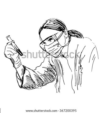 Lab women 1 Free Vecto...