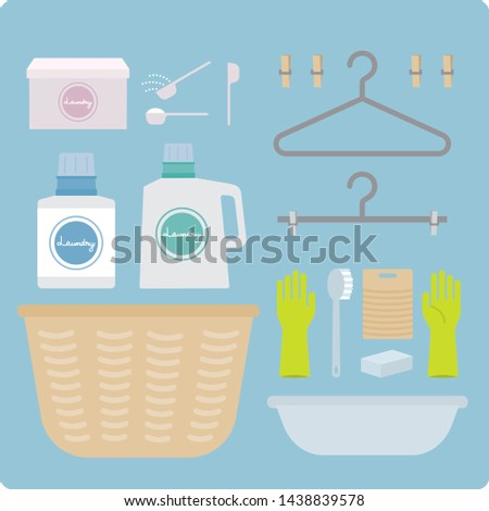hand wash items & drying items