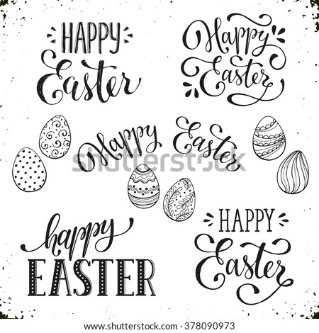 Happy Easter Card Template Free  Freevectors
