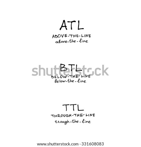 hand written titles for atl